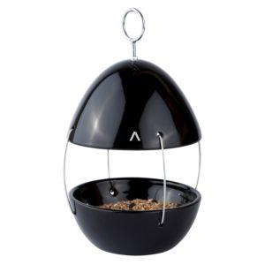 Zone Vogel voedertafel om op te hangen - Kleur Zwart