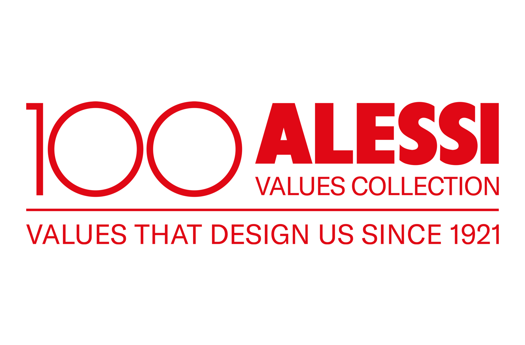 Alessi 100 jaar Values collection