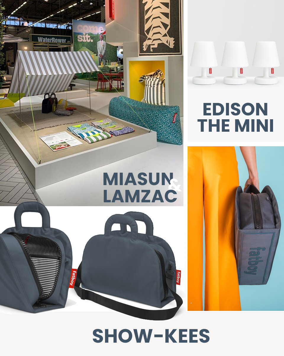 Fatboy Summer musthaves Miasun, lamzac, Edison the Mini