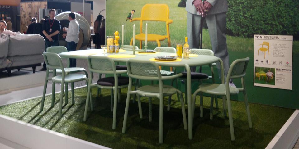 Fatboy Toni aluminium tuintafel en stoelen op Maison et Objet 2020