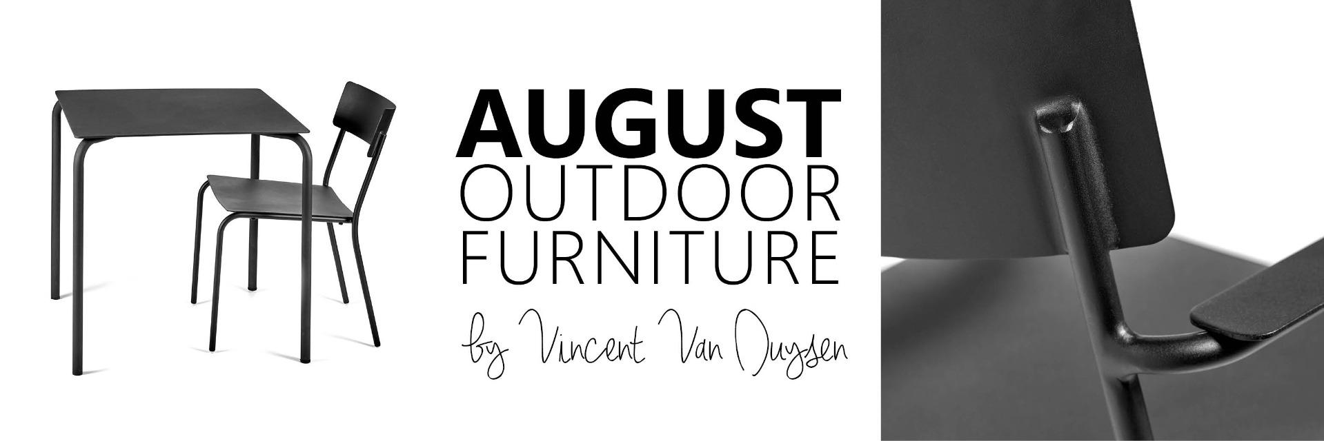 banner August Outdoor Furniture Vincent Van Duysen