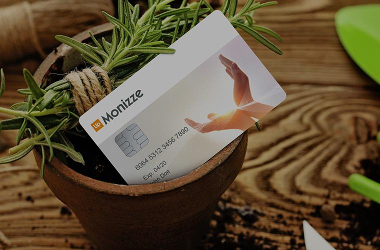 Betalen met digitale ecocheques Monizze